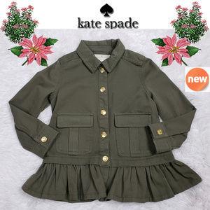 NEW Kate Spade Olive Green Jacket Sz 4